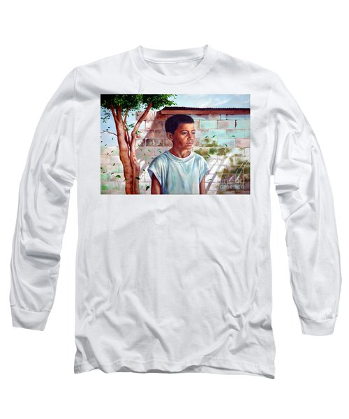 Bata The Filipino Child Long Sleeve T-Shirt