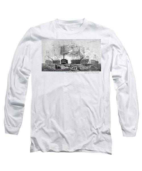 Battle Of Trafalgar, 1805 Long Sleeve T-Shirt