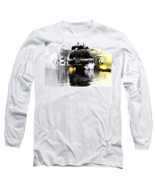 Battle Smoke Long Sleeve T-Shirt