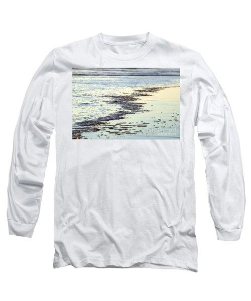 Beach Water Long Sleeve T-Shirt by Henrik Lehnerer