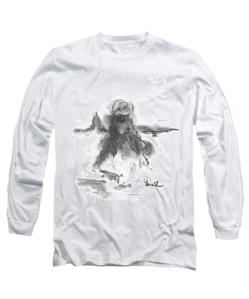 Being Happy Long Sleeve T-Shirt by Laurie L