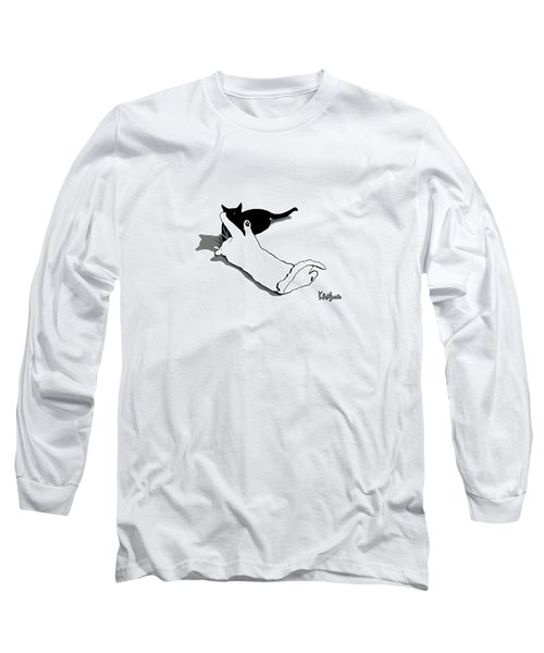Black And White Cats Long Sleeve T-Shirt