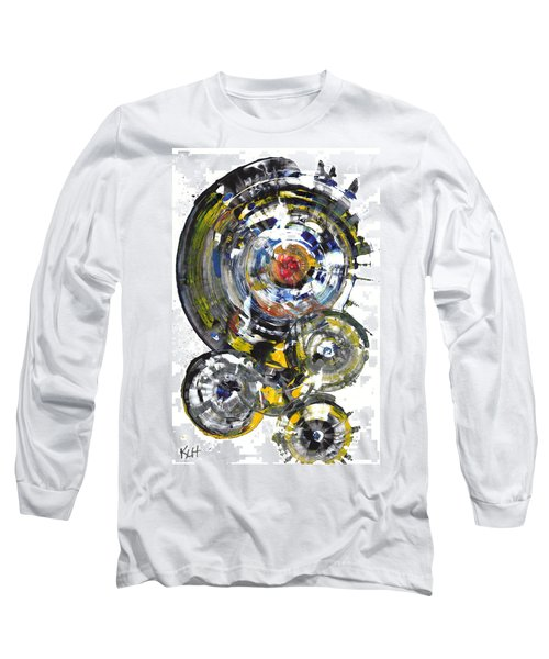 Black And White Shines Brightly  843.120911 Long Sleeve T-Shirt by Kris Haas