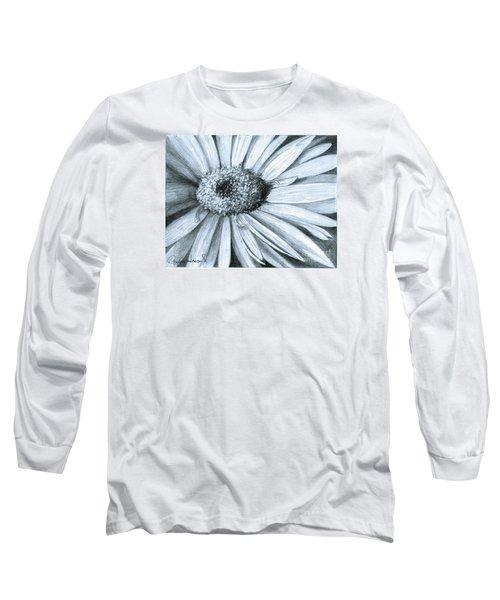 Black White Gerber Long Sleeve T-Shirt