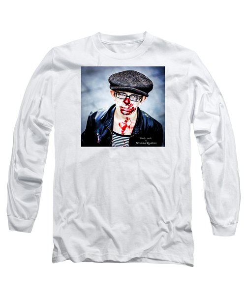 Long Sleeve T-Shirt featuring the photograph Bloody Youth by Stwayne Keubrick