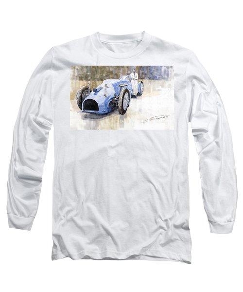 Bluebird 1933 Daytona Malkolm Campbell Long Sleeve T-Shirt