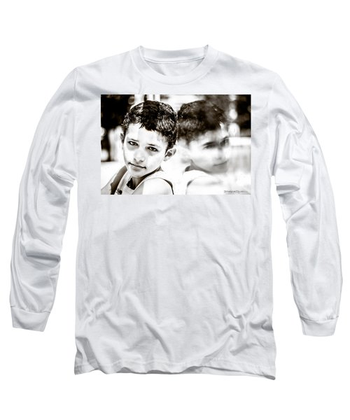 Blurred Thoughts Long Sleeve T-Shirt