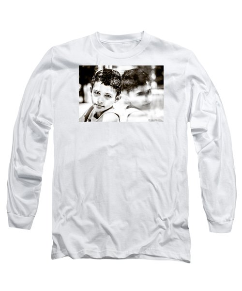 Long Sleeve T-Shirt featuring the photograph Blurred Thoughts by Stwayne Keubrick