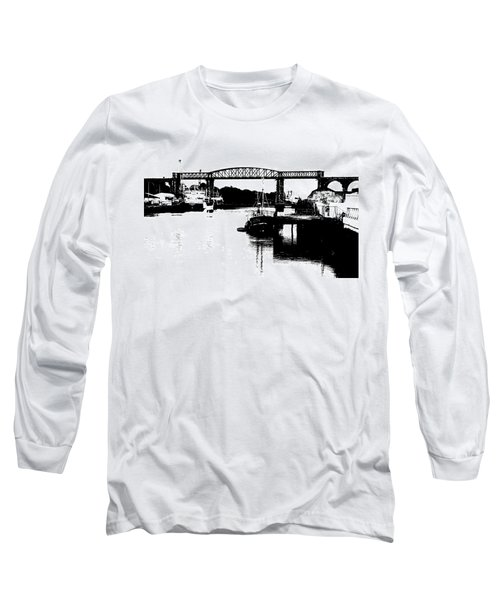 Long Sleeve T-Shirt featuring the photograph Bridge On The Boyne by Charlie and Norma Brock