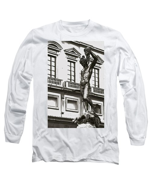 Long Sleeve T-Shirt featuring the photograph Bronze Icon by Eric Tressler