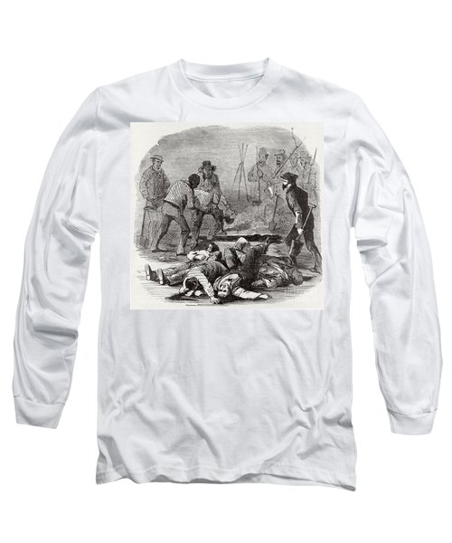 Burying The Dead After John Browns Long Sleeve T-Shirt