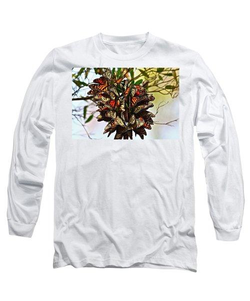 Butterfly Bouquet Long Sleeve T-Shirt