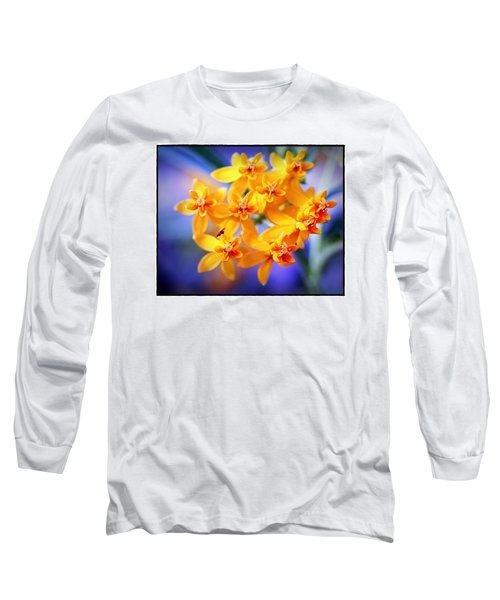 Butterfly Weed Long Sleeve T-Shirt by Judi Bagwell