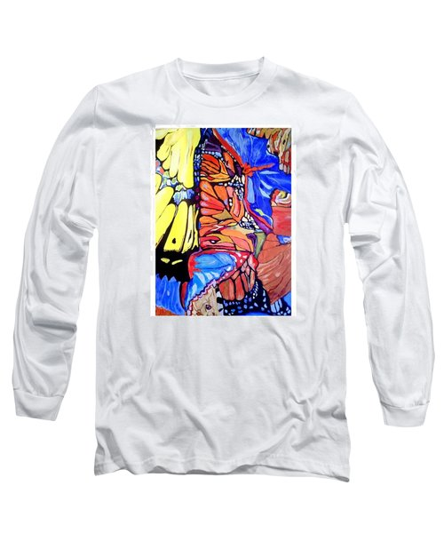 Butterfly Wings Long Sleeve T-Shirt