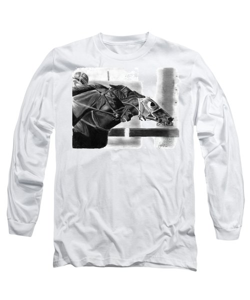 By A Nose Long Sleeve T-Shirt
