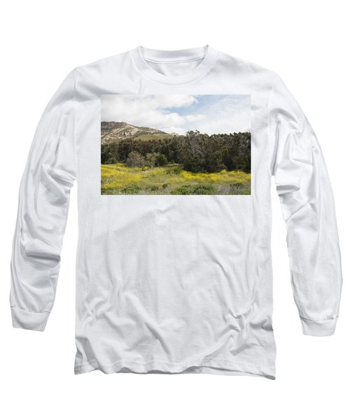 California Hillside View IIi Long Sleeve T-Shirt by Kathleen Grace