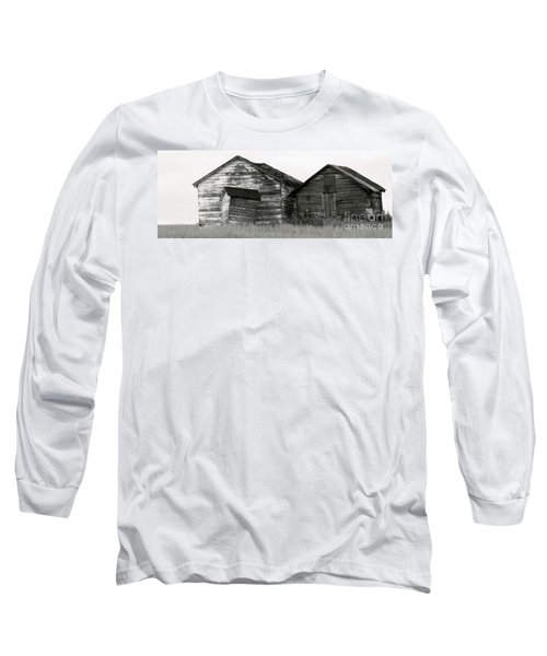 Canadian Barns Long Sleeve T-Shirt by Jerry Fornarotto