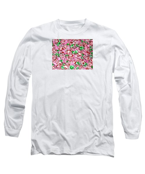 Long Sleeve T-Shirt featuring the photograph Candy Is Dandy by Beth Saffer