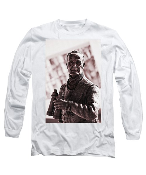 Long Sleeve T-Shirt featuring the photograph Captain F J Walker by Meirion Matthias
