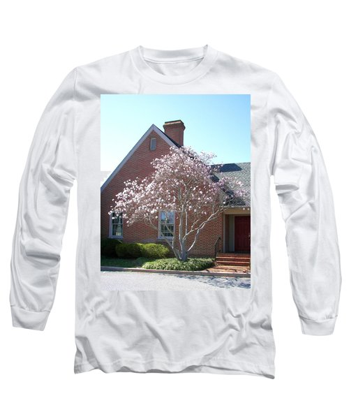 Long Sleeve T-Shirt featuring the photograph Cherry Blossom by Pamela Hyde Wilson