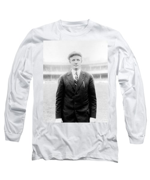 Long Sleeve T-Shirt featuring the photograph Christy Mathewson - Major League Baseball Player by International  Images