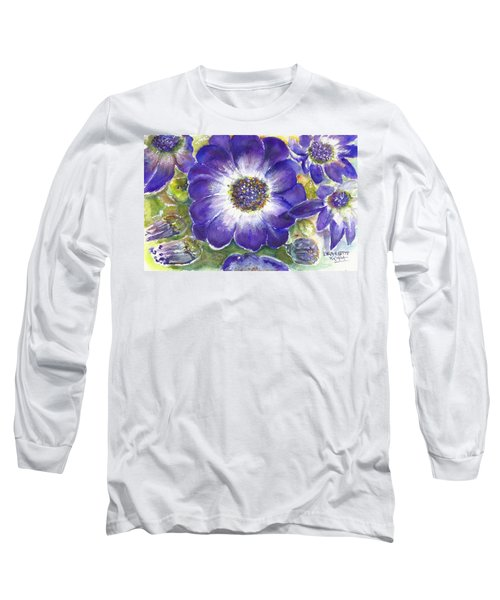 Cineraria Of South Africa  Long Sleeve T-Shirt