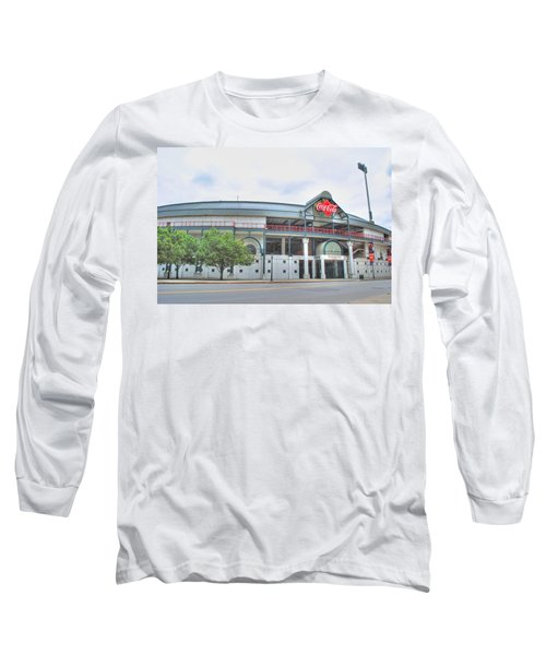 Long Sleeve T-Shirt featuring the photograph Coca Cola Field  by Michael Frank Jr