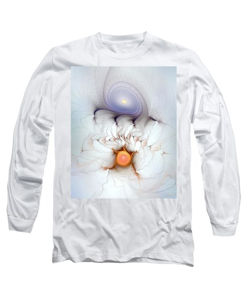 Long Sleeve T-Shirt featuring the digital art Coexistence by Casey Kotas