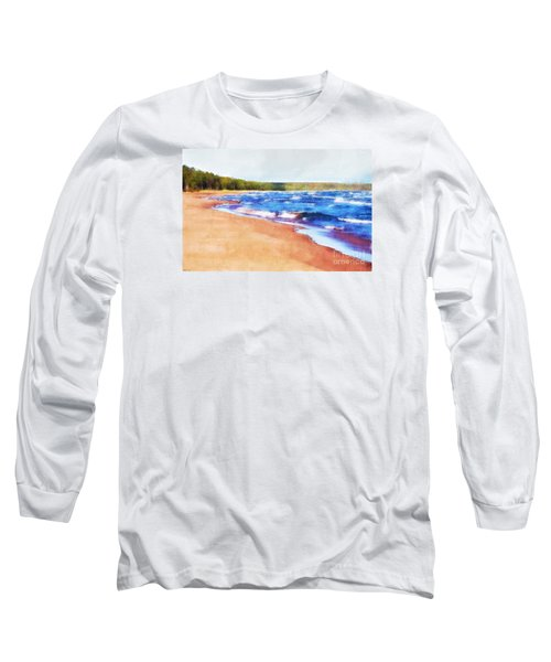 Long Sleeve T-Shirt featuring the photograph Colors Of Water by Phil Perkins
