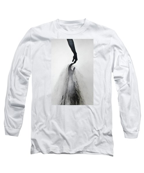 Coming Apart 3 Long Sleeve T-Shirt by Michael Cross