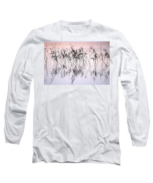 Common Reeds Long Sleeve T-Shirt by Jouko Lehto