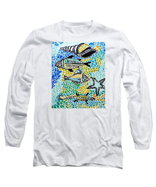 Comotion In The Ocean Long Sleeve T-Shirt