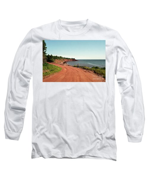 Contemplation Long Sleeve T-Shirt by Kathy McClure