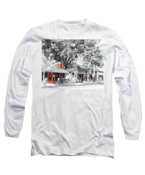 Cooper Young Places Long Sleeve T-Shirt