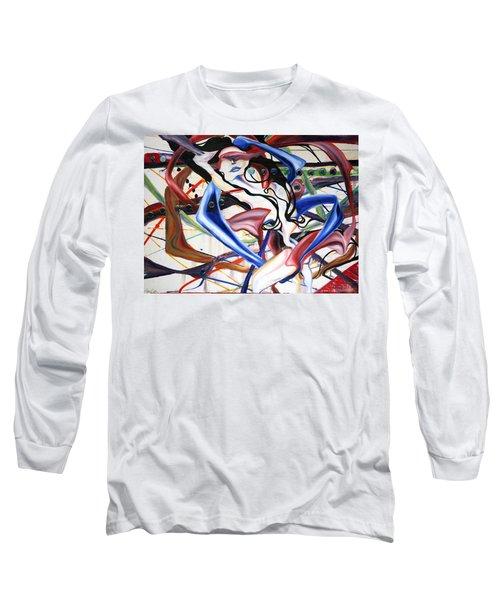 Cosmopolitan Long Sleeve T-Shirt by Sheridan Furrer