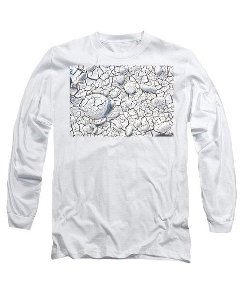 Cracked Earth Long Sleeve T-Shirt by Nareeta Martin