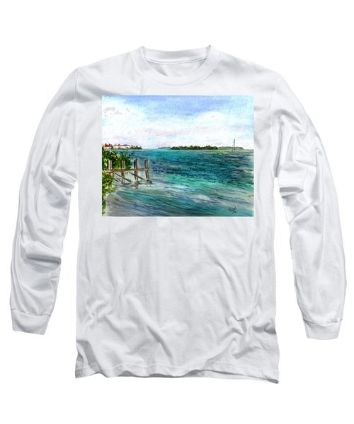 Cudjoe Bay Long Sleeve T-Shirt