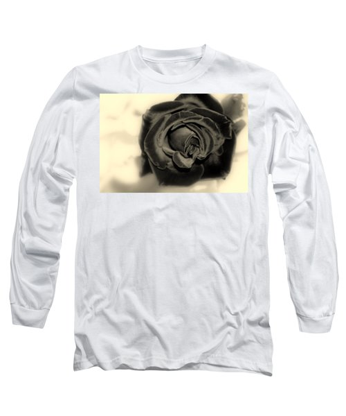 Long Sleeve T-Shirt featuring the photograph Dark Beauty by Kay Novy