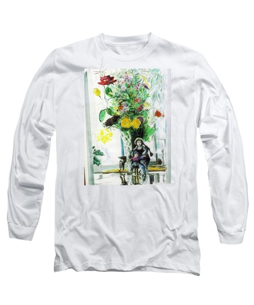 Dolls And Flowers Long Sleeve T-Shirt