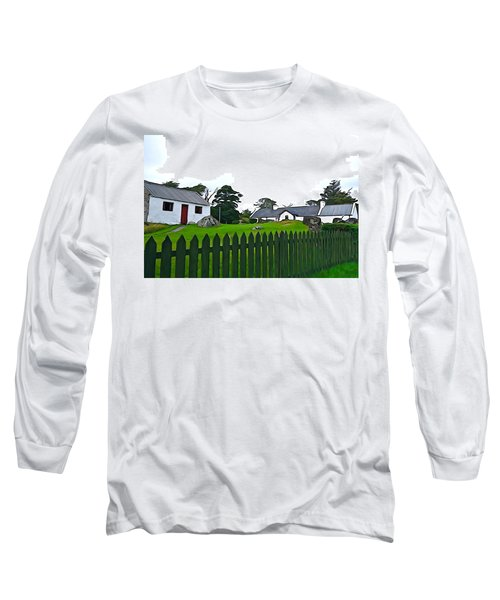 Long Sleeve T-Shirt featuring the photograph Donegal Home by Charlie and Norma Brock