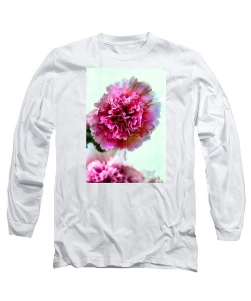 Double Hollyhock Long Sleeve T-Shirt