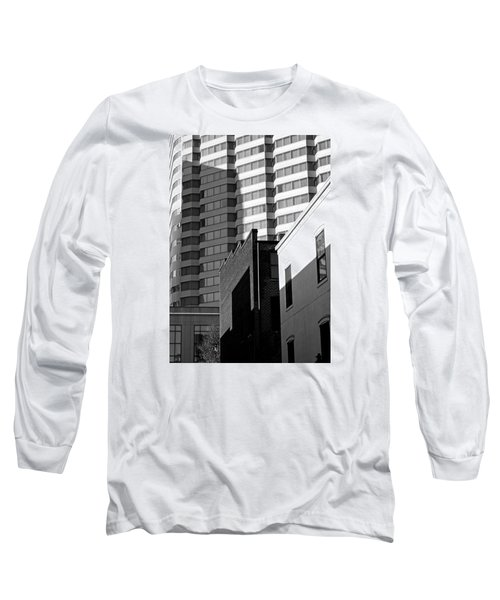 Long Sleeve T-Shirt featuring the photograph Downtown Lines by Jean Haynes