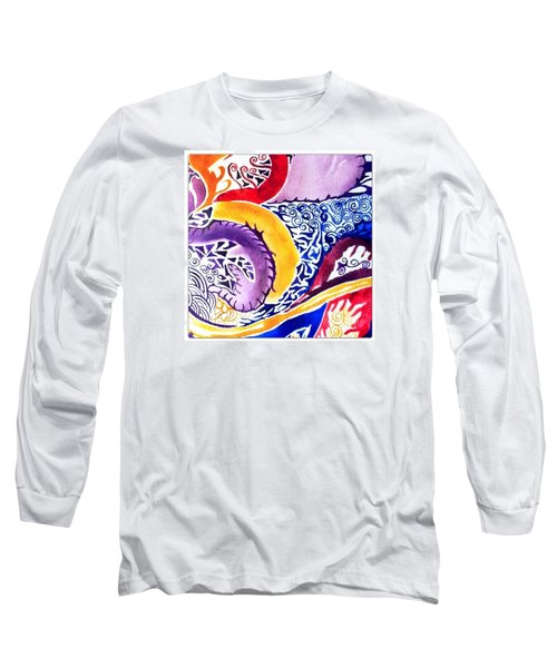 Dreaming In Watercolors Long Sleeve T-Shirt