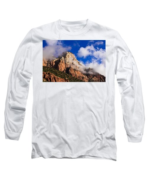 Early Morning Zion National Park Long Sleeve T-Shirt