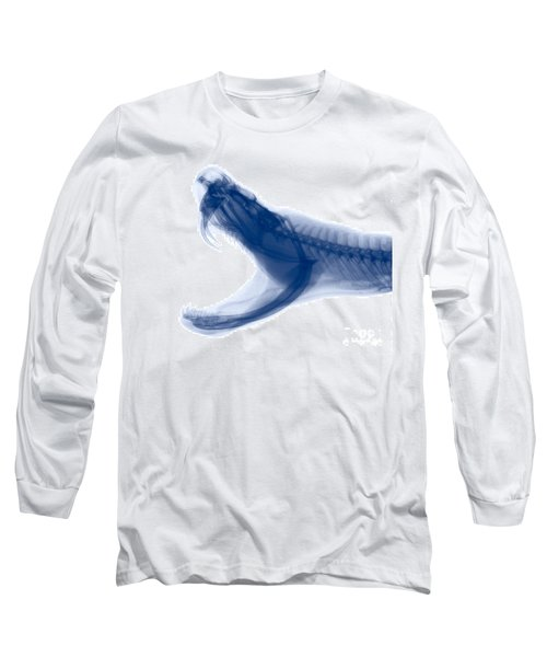 Eastern Diamondback Rattlesnake, X-ray Long Sleeve T-Shirt