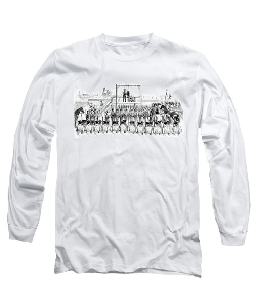 Execution Of John Brown, American Long Sleeve T-Shirt