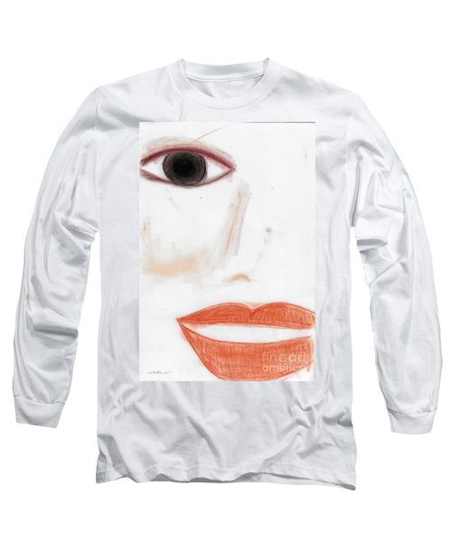 Long Sleeve T-Shirt featuring the photograph Face by Vicki Ferrari