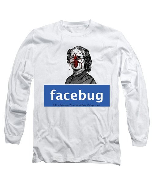 Facebug For Women Long Sleeve T-Shirt