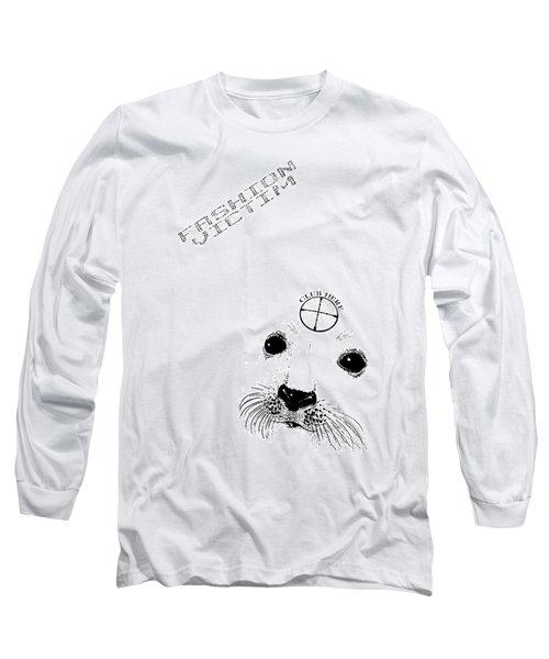 Fashion Victim Long Sleeve T-Shirt by Tony Koehl