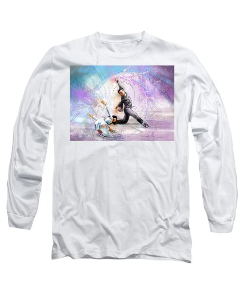 Figure Skating 02 Long Sleeve T-Shirt